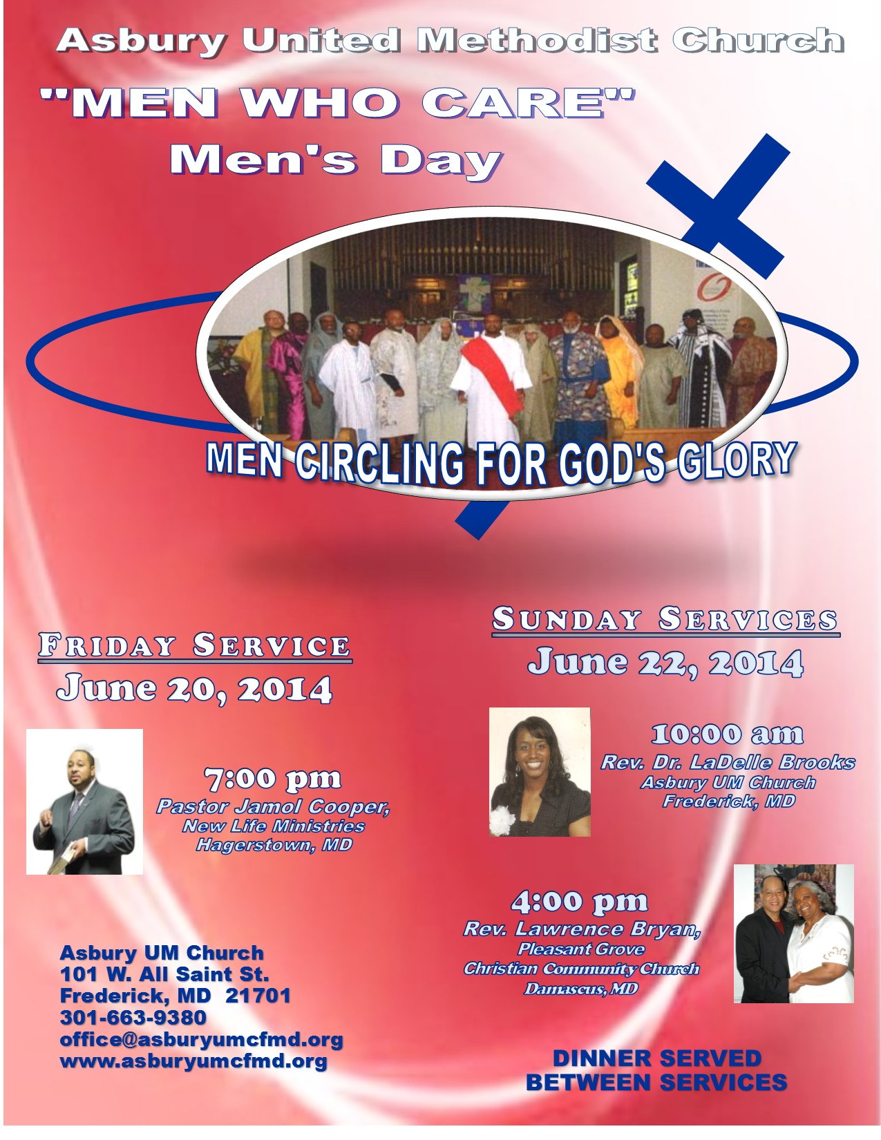 Asbury United Methodist Church » Men's Day Services