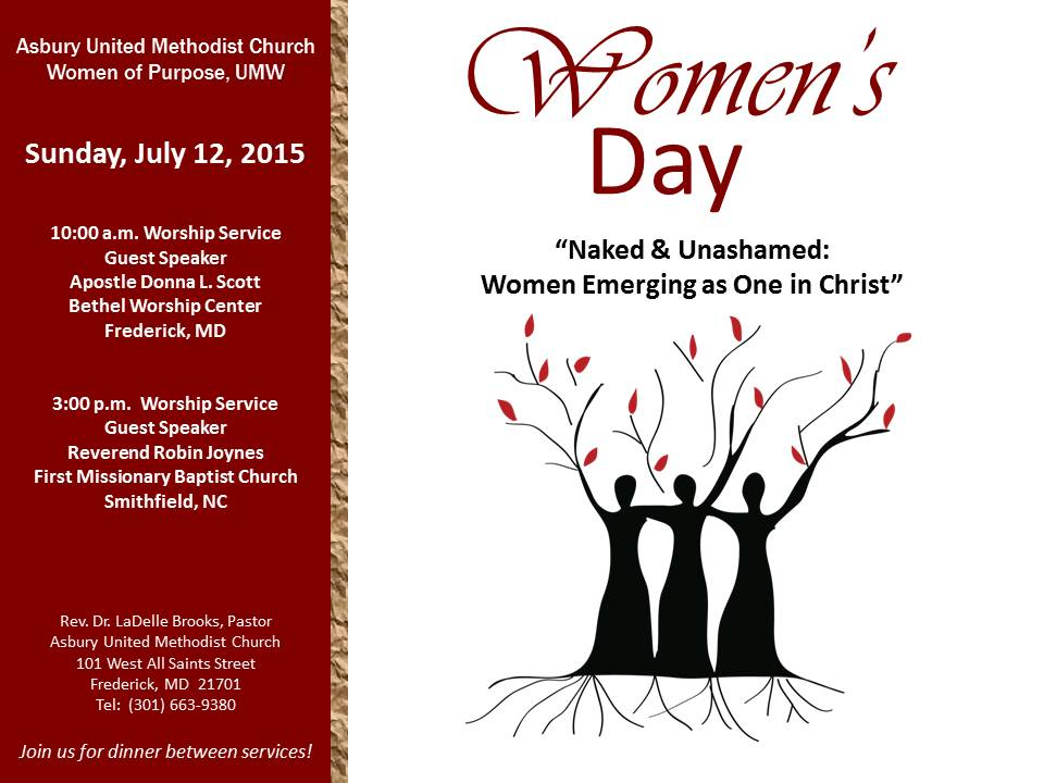 Asbury United Methodist Church » Join us for our Women's ...